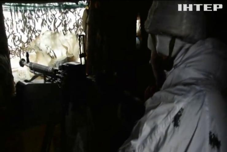 Біля Лебединського і Водяного бойовики застосували заборонені міномети