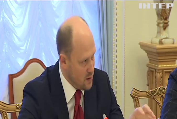 Сергій Каплін зустрівся з представниками європейської конфедерації профспілок