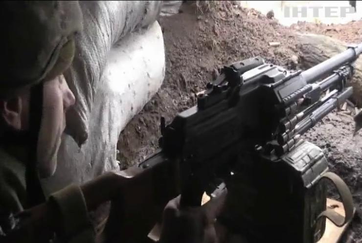 На Донбасі зазнали поранень троє військових ЗСУ