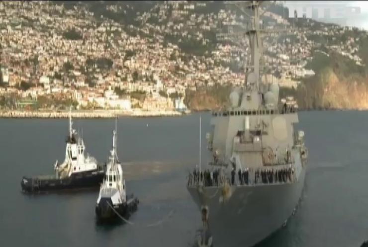 """У Чорне море прямує американський ракетний есмінець """"Дональд Хук"""""""
