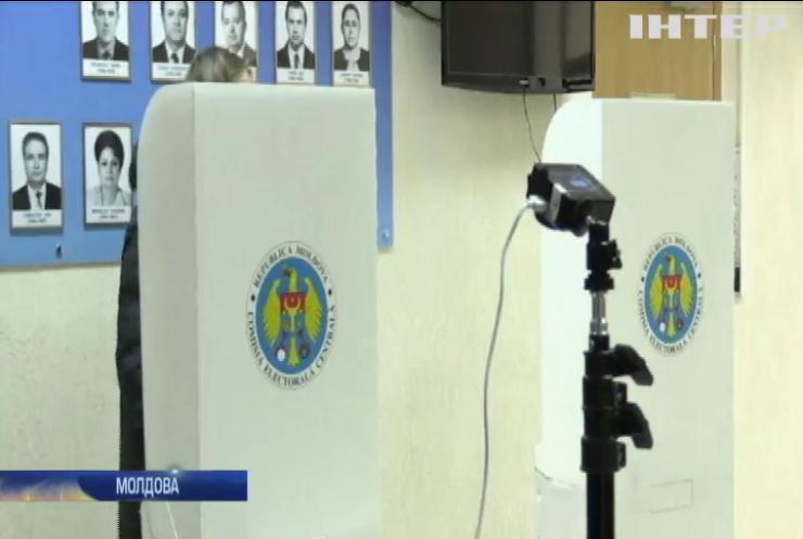 До парламенту Молдови проходять чотири партії