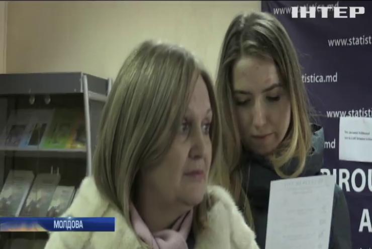 У Молдові пройшли вибори у парламент
