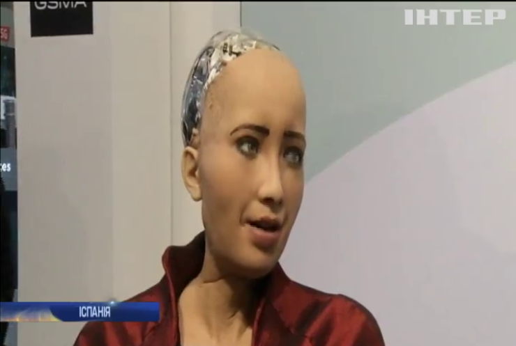 Робот Софія зачарувала гостів техновиставки