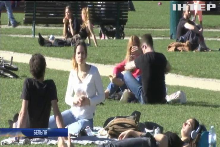 Спека у лютому: у Європі зафіксували температурний рекорд