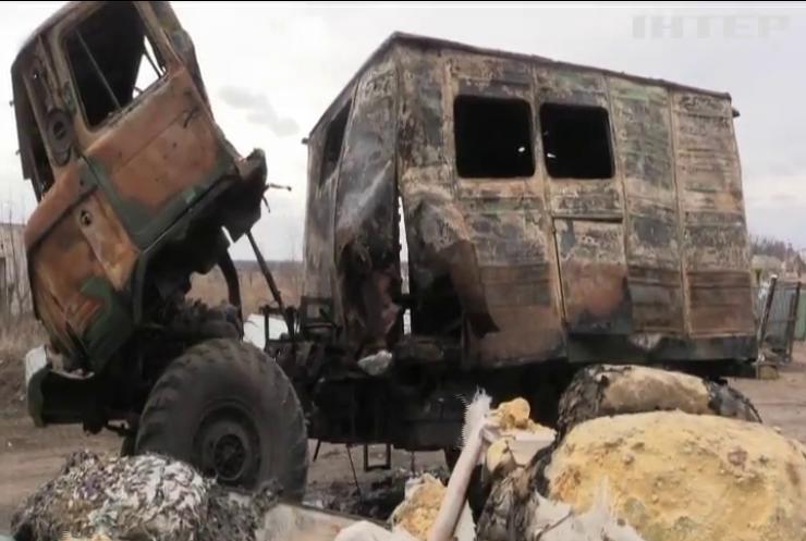 На Донбасі бойовики обстрілювали українські позиції