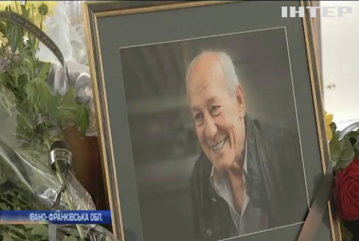 В Івано-Франківську поховали українського актора Сергія Романюка