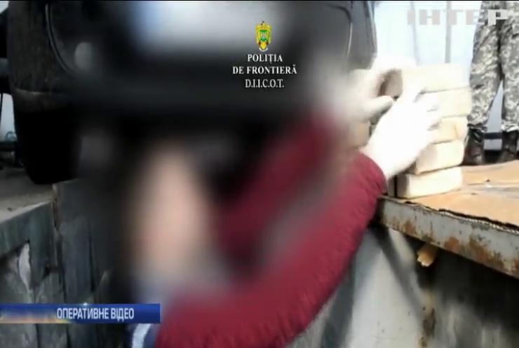 Наркокур'єри везли до Румунії 84 кг героїну