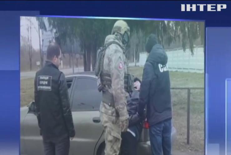 Поліція затримала банду рекетирів