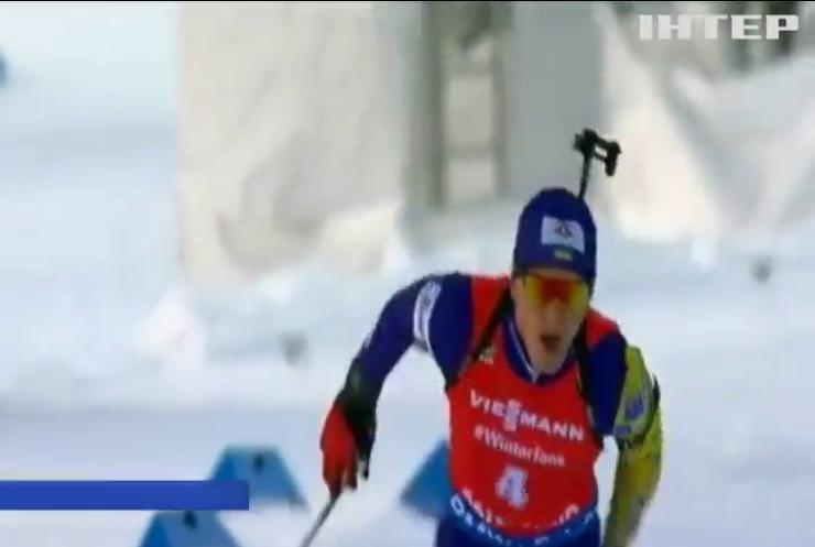 Український біатлоніст здобув золоту медаль на чемпіонаті світу у Швеції