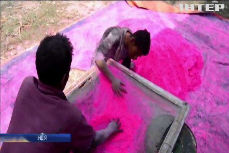 В Індії готуються до кольорового фестивалю Холі
