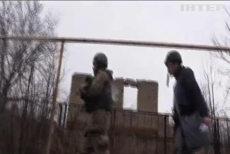 Бойовики обстріляли позиції армійців поблизу Авдіївки
