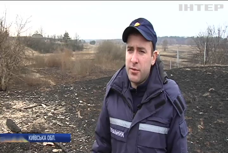 В Україні масово палять сухостій