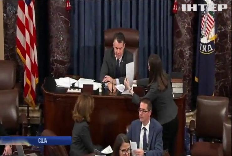 Сенат скасував надзвичайний стан у США