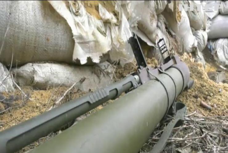 На Донбасі знищили ворожу БМП