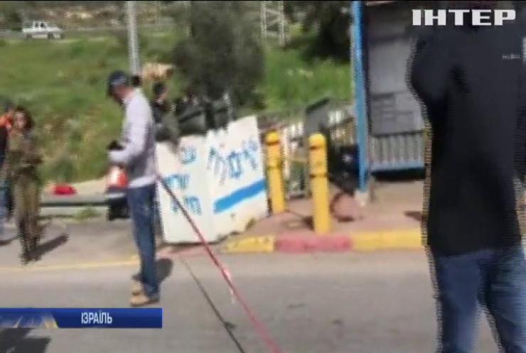 Теракт в Ізраїлі: палестинець обстріляв ізраїльських військових