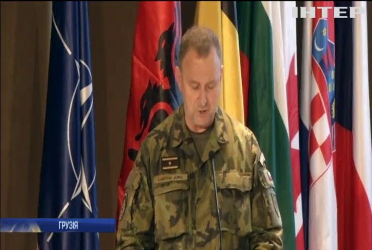 Грузія розпочала спільні військові навчання з НАТО