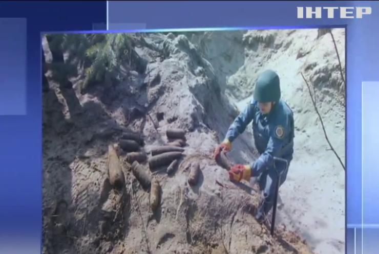 Небезпечна знахідка: на Полтавщині сапери знешкодили боєприпаси