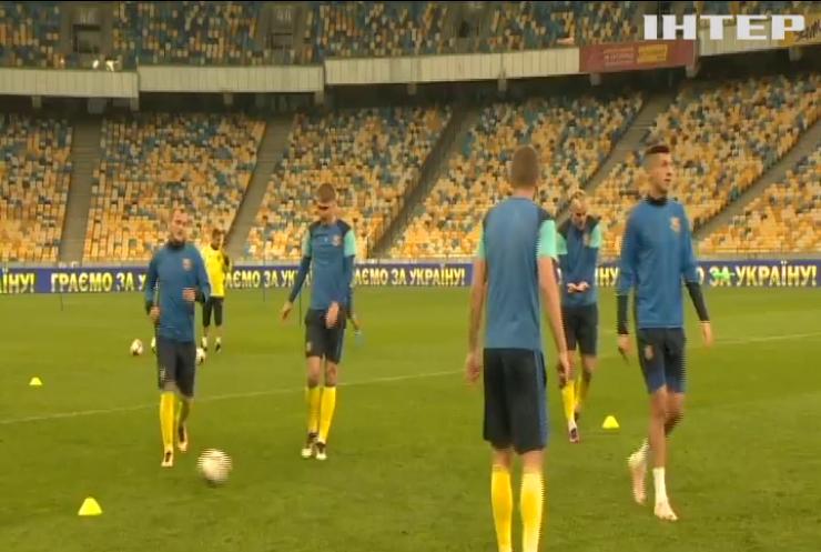 Євро-2020: збірна України готується до матчу із португальцями
