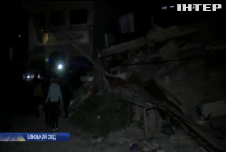 Між Ізраїлем та Газою не припиняються ракетні обстріли