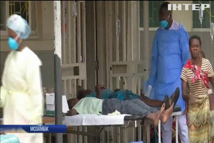 Мозамбіку загрожує епідемія холери