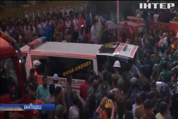 У Бангладеші сталася масштабна пожежа (відео)