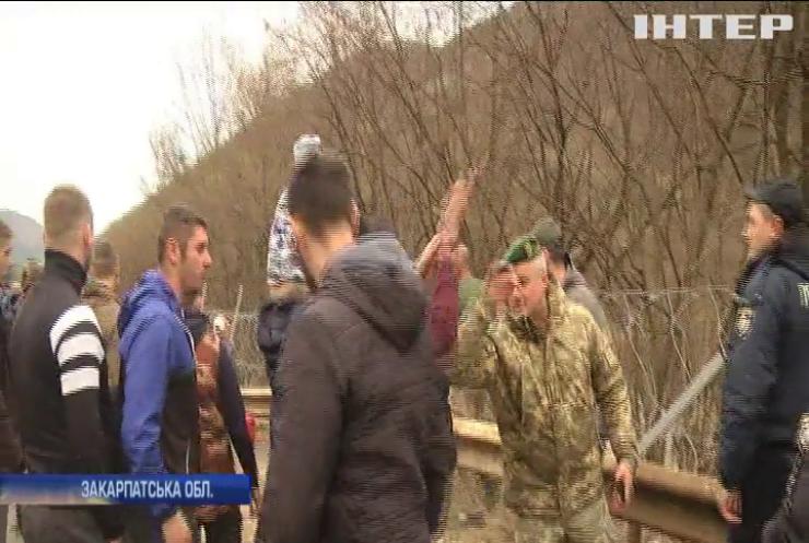 Жителі Закарпаття обурені посиленням кордону з Румунією