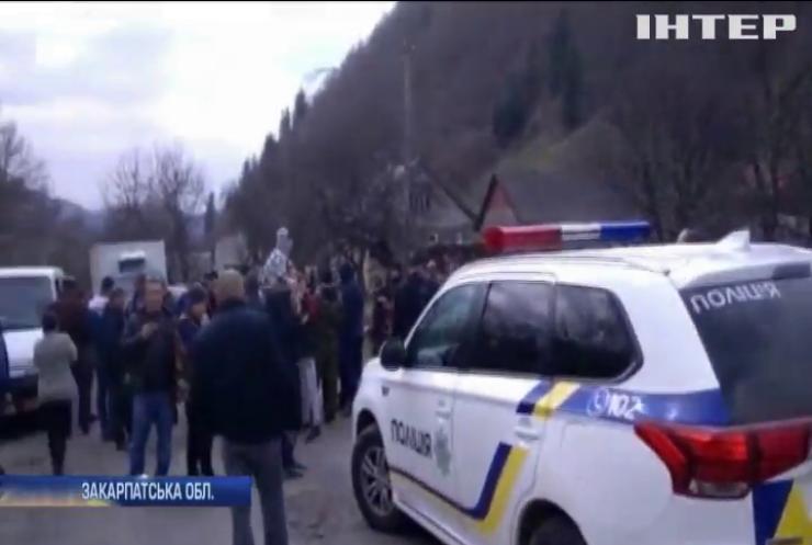 Жителі Закарпаття протетстують проти посилення кордону з Румунією