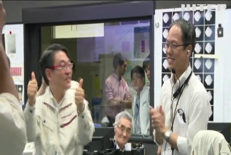 Японський зонд обстріляв астероїд