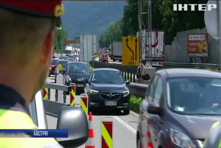 Австрія продовжить прикордонний контроль з Угорщиною і Словенією