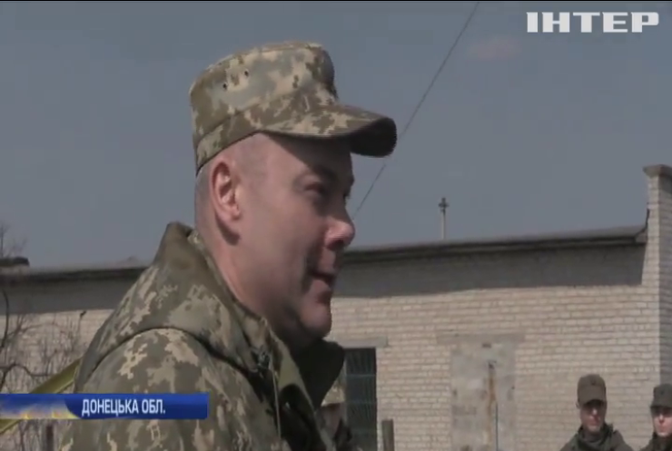 Річниця ООС: на Донеччині нагородили військових журналістів