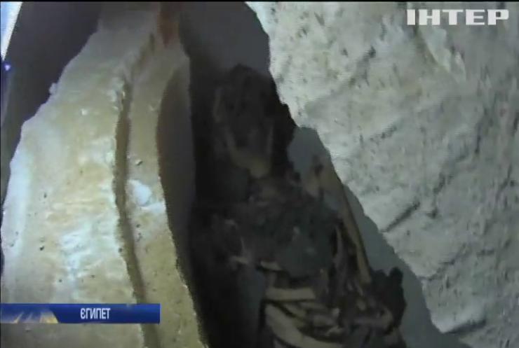 Археологи у прямому ефірі відкрили саркофаг з мумією (відео)