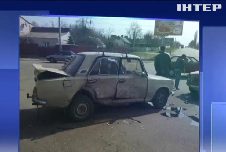 У Кропивницькому п'яний водій спричинив потрійну аварію