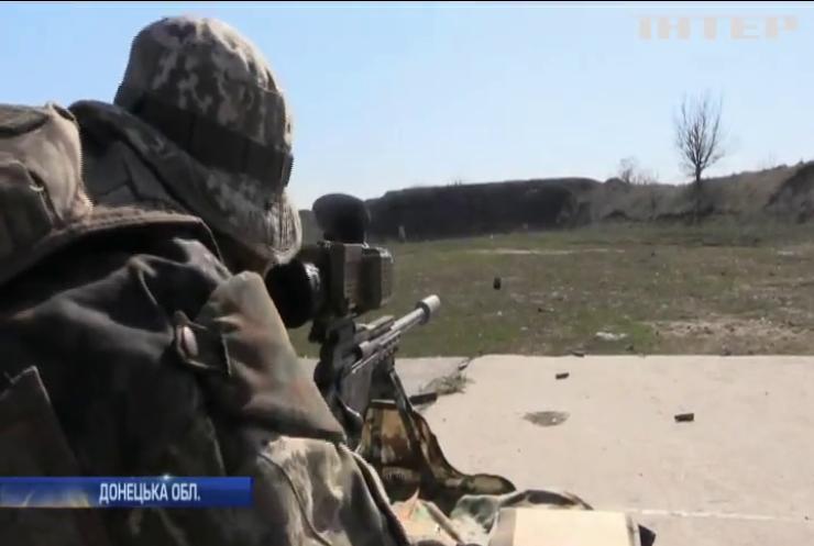 Поблизу Мар'їнки активізувалися ворожі снайпери
