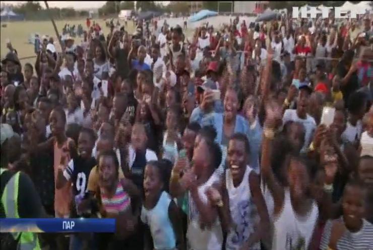 У Південній Африці дитина підкорює музичні фестивалі