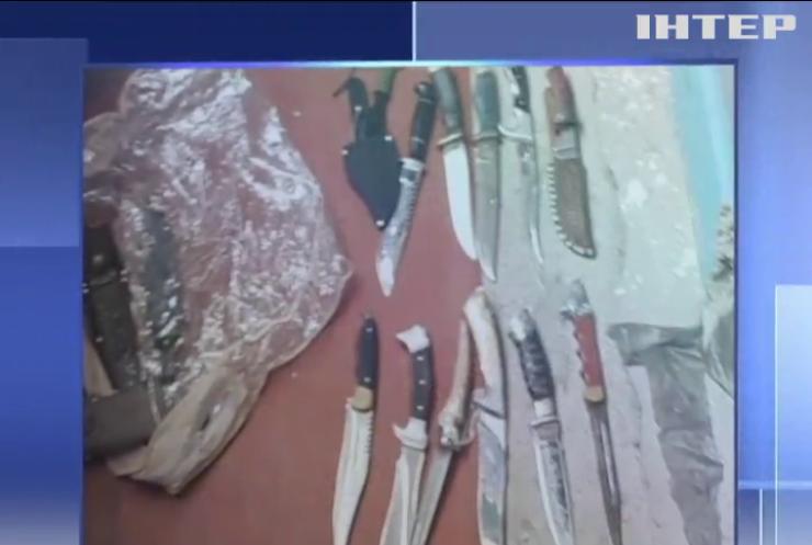 Силовики виявили у киянина арсенал зброї з Донбасу