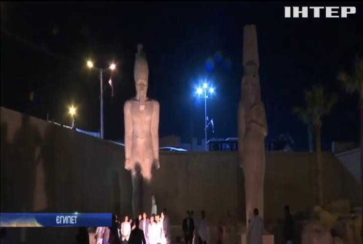 У Єгипті відреставрували статую фараона Рамзеса