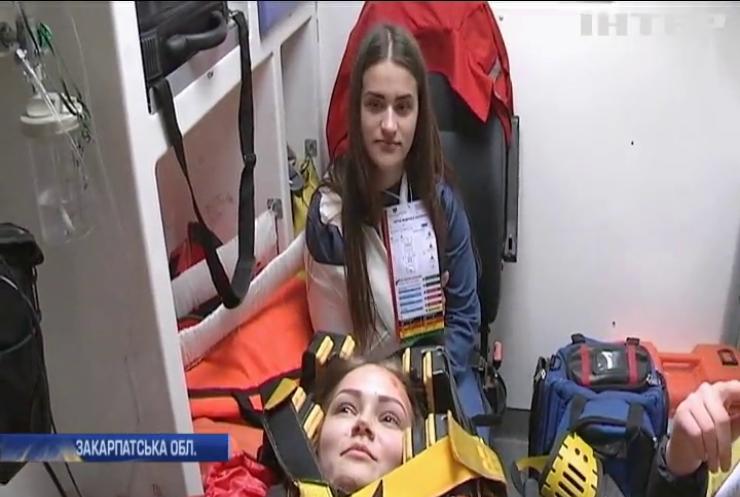 Надзвичайники та медики Ужгорода провели спільні навчання