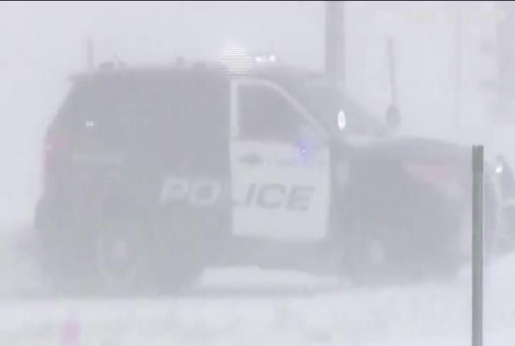 У США лютує снігова буря