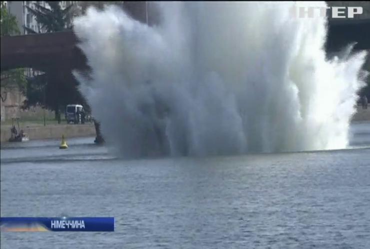 У Франкфурті-на-Майні знешкодили 250-кілограмову бомбу (відео)