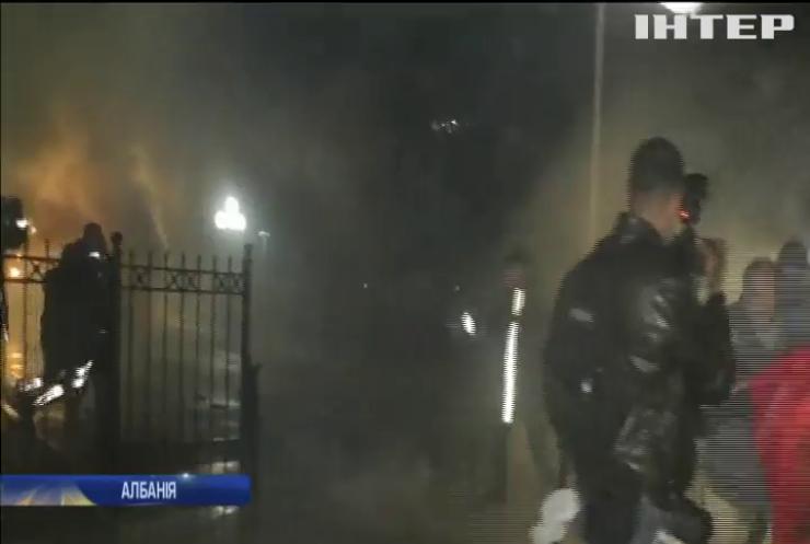 В Албанії вирують антиурядові протести