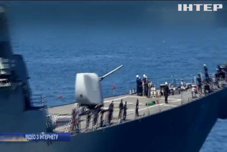 Есмінець США Ross зайшов до Чорного моря