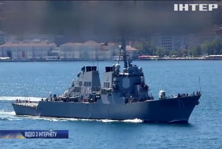 У Чорне море війшов ракетний есмінець США