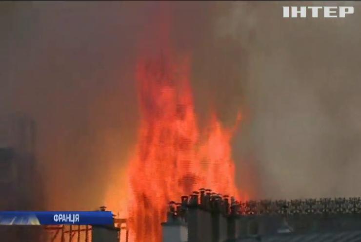 У Соборі Паризької Богоматері локалізували пожежу