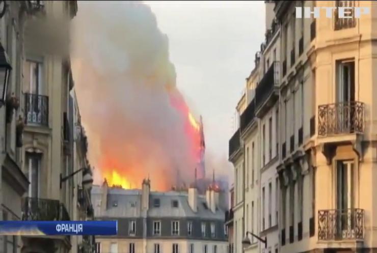 Собор Паризької Богоматері буде відновлений - Емануель Макрон