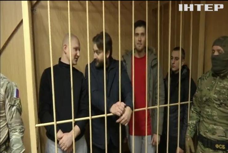 Україна вимагає від Росії звільнити захоплених моряків