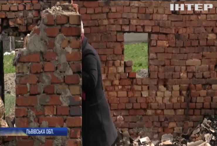 Підпал на Львівщині: жінка втратила житло через громадську позицію