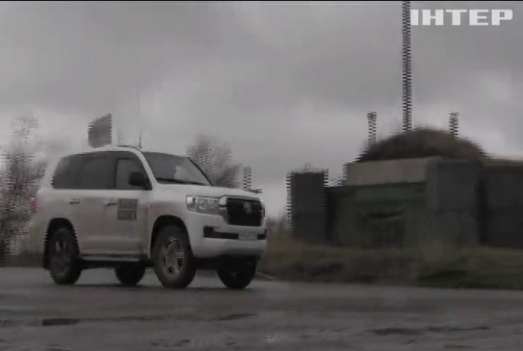 ОБСЄ зафіксувала використання забороненої зброї на Донбасі