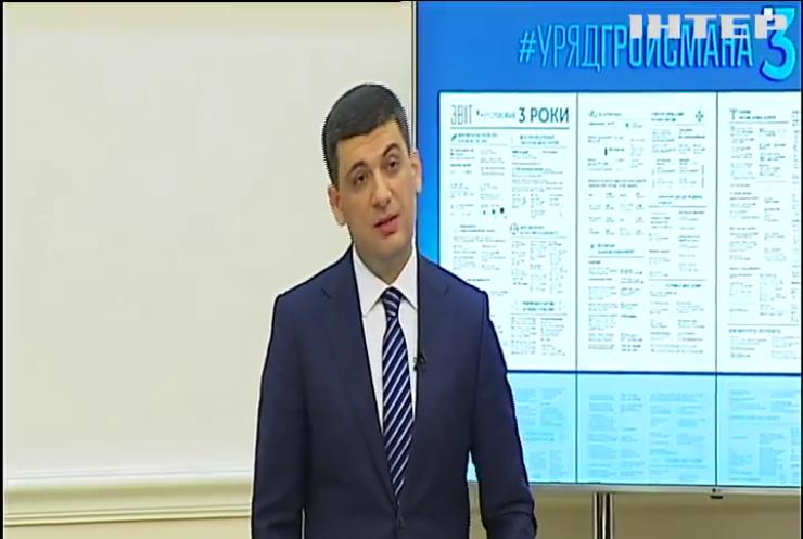 Володимир Гройсман пригрозив відставкою Андрію Коболєву