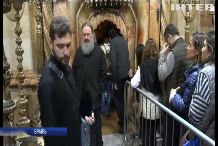 Делегація УПЦ на чолі з намісником Києво-Печерської Лаври Митрополитом Павлом відвідала урочисте богослужіння в Єрусалимі