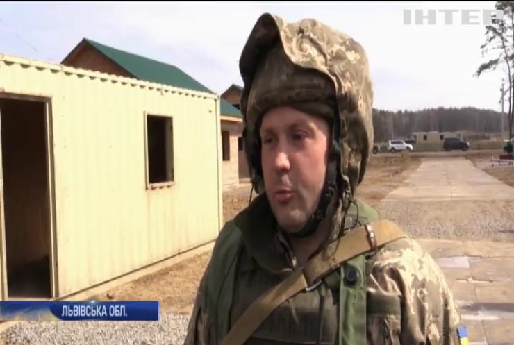 """""""Україна - НАТО"""": на Яворівському полігоні проходять міжнародні військові навчання"""